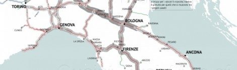 QUAINT's map of the month/1: Flussi Autostradali e Sistema di Pedaggiamento per Tratta – anno 2015