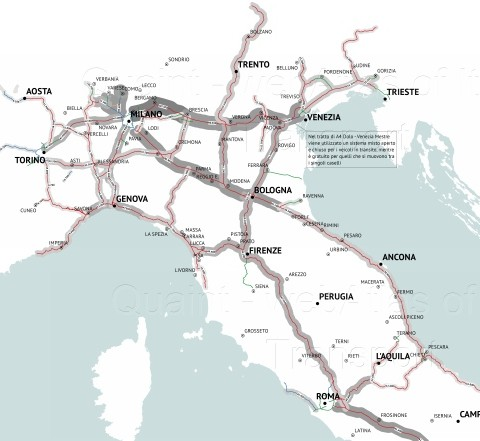 QUAINT (Quantitative Analysis of Italian National Transport)
